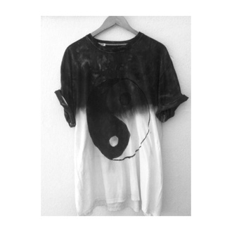 shirt yin yang tie dye