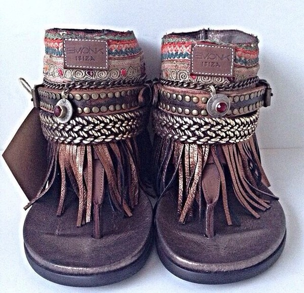 shoes fringe sandals boho summer boho indian sandals summer summer sandals hippie sandals boho sandals sandals fringes boho chic native american indian hippie chic hippie flat sandals brown