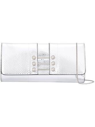 women clutch grey bag
