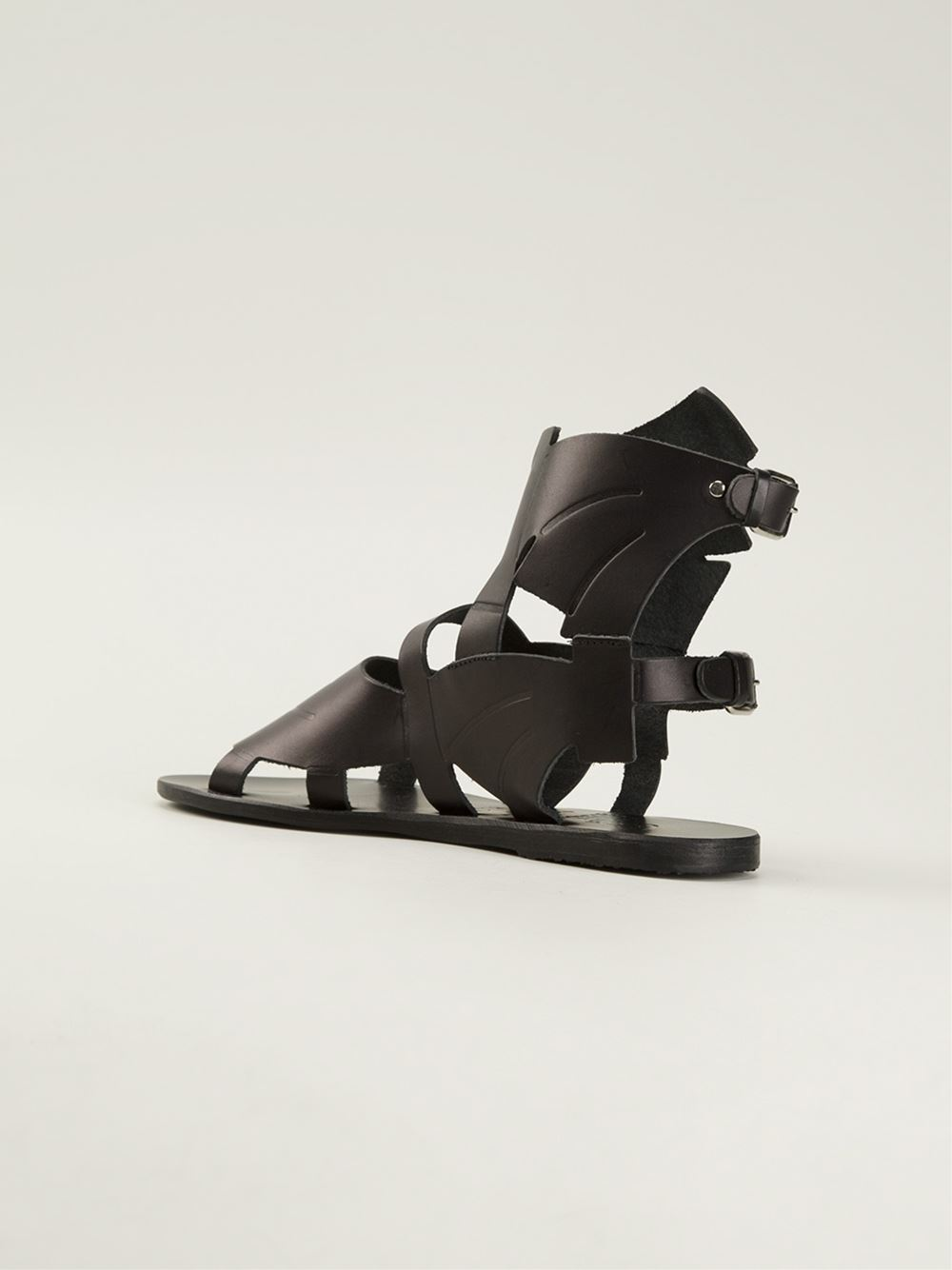 Women - Ancient Greek Sandals X Carven 'Banana' Sandal - Feathers Fashion Online Store