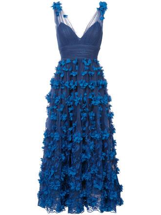 dress sheer women blue silk
