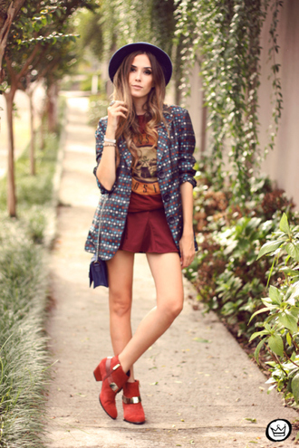 fashion coolture jacket t-shirt skirt hat bag shoes