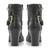 STEVE MADDEN DAARING - Zip Detail Pointed Toe Wedge Ankle Boot - leopard | Dune Shoes Online