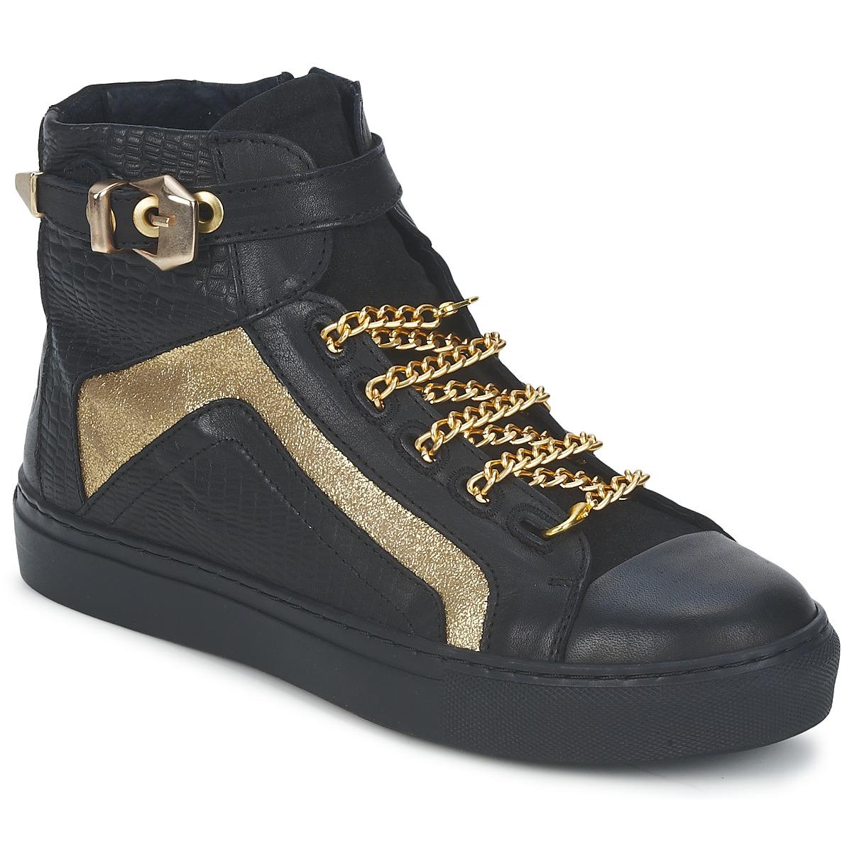 Sneaker High Bronx KYTE Schwarz - Kostenloser Versand ! - Schuhe Damen 77,40 €