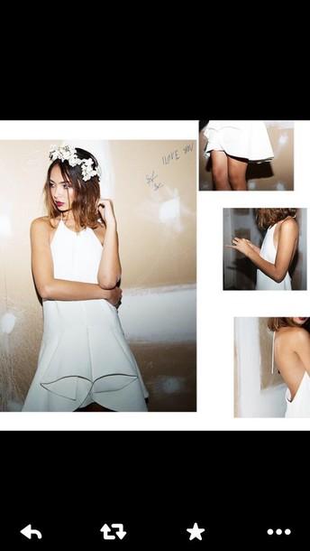 dress white dress short dress evening dress evening outfits