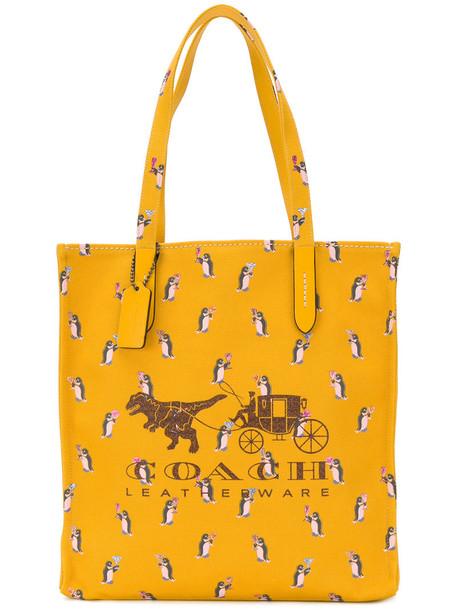 women cotton yellow orange bag