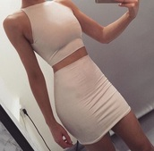 dress,clothes,nude,nude dress,two piece dress set,party dress,sexy party dresses,sexy,sexy dress,party outfits,sexy outfit,bodycon,bodycon dress,mini dress,summer dress,summer outfits,spring dress,spring outfits,fall dress,fall outfits,holidayd ress,holiday dress,pool party,summer holidays,cute,cute dress,girly,girly dress,classy dress,elegant dress,cocktail dress,date outfit,birthday dress,clubwewar,clubwear,club dress,graduation dress,homecoming,homecoming dress,wedding clothes,wedding guest,engagement party dress,romantic dress,romantic summer dress,dope