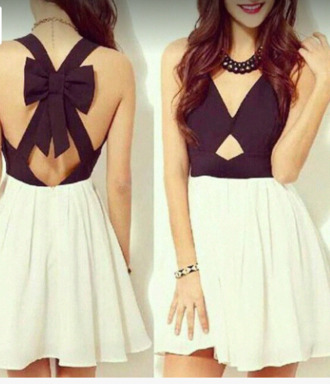 jewels girly swag white dress vintage collier little black dress skirt