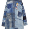 Patchwork denim jacket | moda operandi