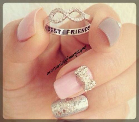 jewels infinity ring ring best friends infinity ring