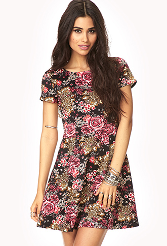 Sweet Thing Skater Dress | FOREVER21 - 2000129461