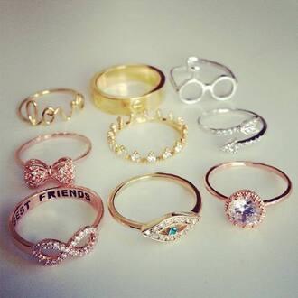 jewels infinity eye beautiful jewel ring bestfriends