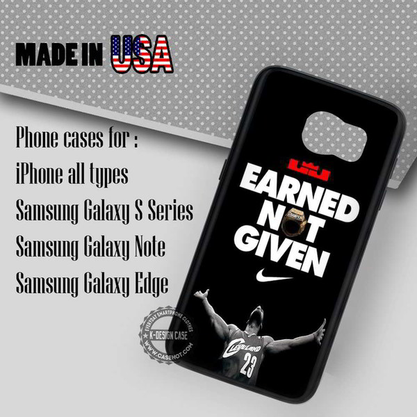 phone cover lebron james quote