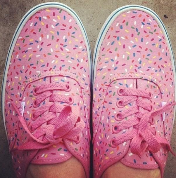 shoes vans sprinkles