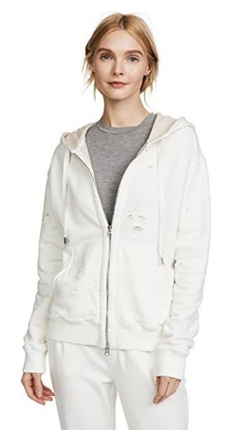 ATM Anthony Thomas Melillo hoodie zip sweater