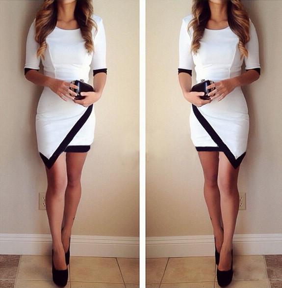 Irregular sexy dress bv1015ci