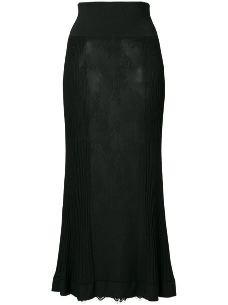 Ck Calvin Klein skirt maxi skirt maxi women lace black