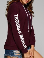 sweater,dark red,wine red,hoodie,red hoodie,red,hooded,casual,women casual,long sleeves,jeans top,loose,oversized,loose top,cute,cute top,urban,lookbook,preppy,pretty,girl,girly,girly wishlist,tumblr top,tumblr girl,fashionista,oversized sweater,gym,fit,fitness,moraki,burgundy,winter outfits,winter sweater,fall outfits,fall sweater,fall colors,troublemaker,streetstyle,streetwear,street,holiday gift,fashion,workout,workout clothing