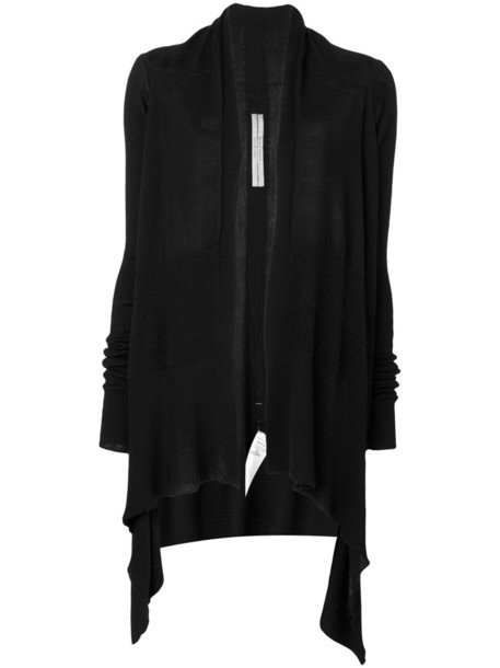 Rick Owens cardigan cardigan women black wool sweater