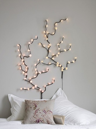 phone cover wall decor cherry blossom lights home decor