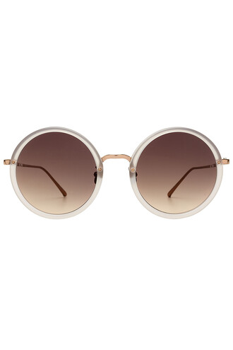 sunglasses round sunglasses rose