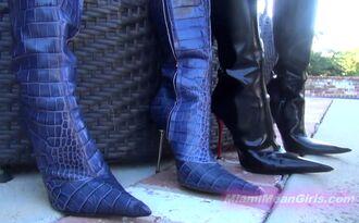 shoes pointy toe boots pointed toe high heels killer heels metal heel femdom fetish dominatrix