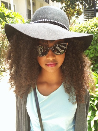 hat black hat sunglasses picnic vintage tumblr