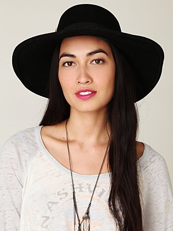 Yestadt millinery justus wide brim hat at free people clothing boutique