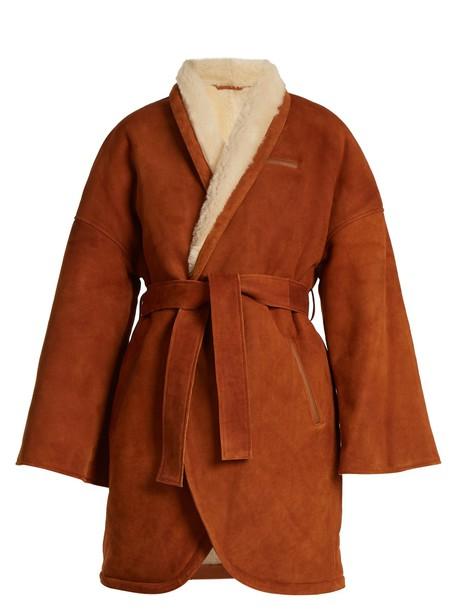 Osman coat tan