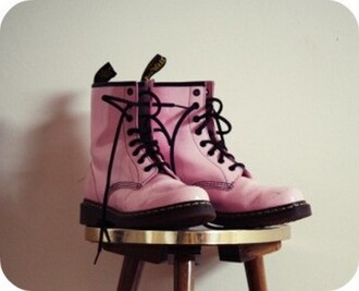 shoes pink shoes drmartens