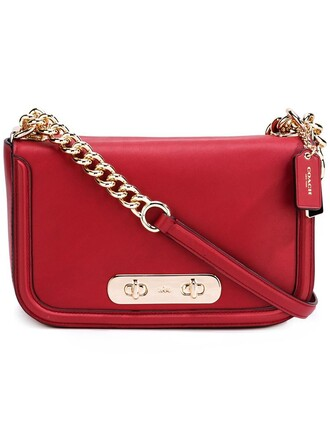 women bag shoulder bag red