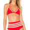 Tularosa x revolve nina bikini top in cherry bomb from revolve.com