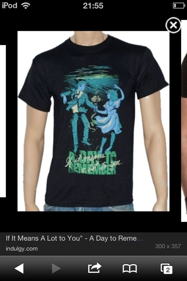 shirt a day to remember if it means a lot to you black clothes t-shirt band t-shirt dance