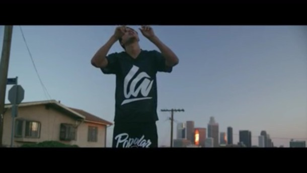 t-shirt kap g black la t-shirt
