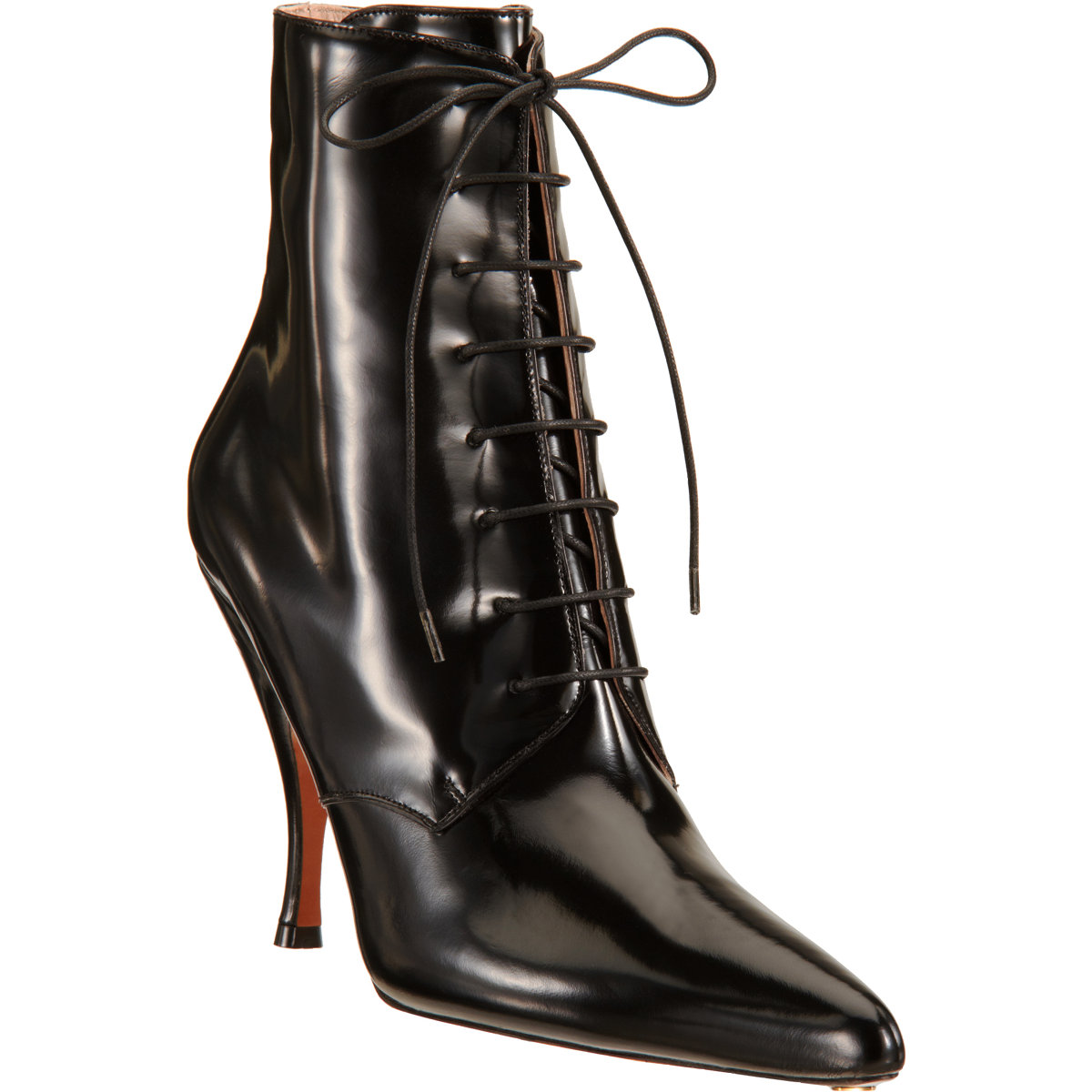 Rochas Pointed Toe Ankle Boot at Barneys.com