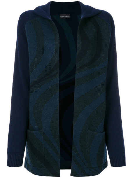 Cashmere In Love cardigan cardigan women blue wool sweater