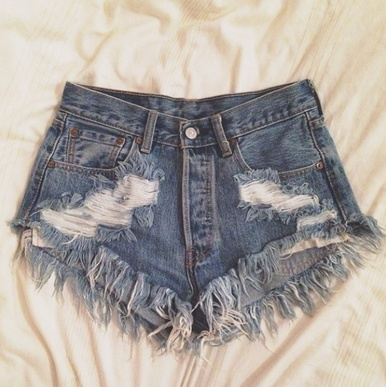 Original 320 Destroyed Shorts - Arad Denim