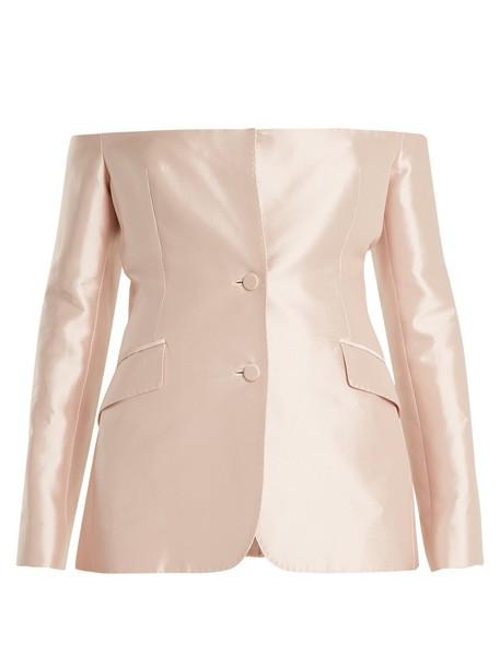 Gabriela Hearst jacket light pink light pink