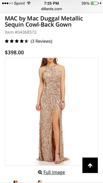 3519202a217 dress gold dress long dress gold sequins slit dress sequin dress sexy dress