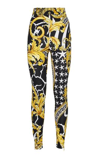 High-Rise Gabardine Pants by Versace | Moda Operandi