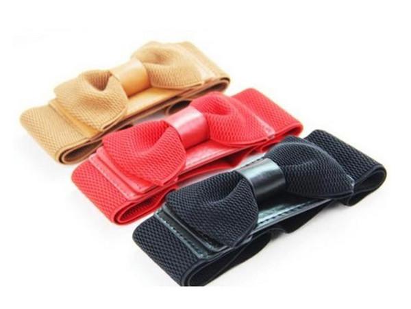 belt bowknot boots