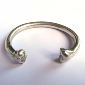 jewels,bracelets,bones,silver,minimalist jewelry