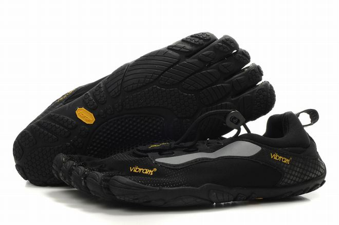 5 fingers bikila ls black running sneakers for men