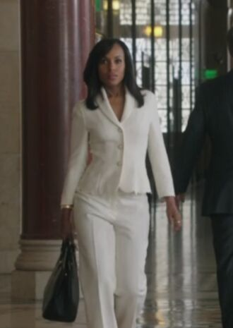 jacket topper jacket scandal kerry washington pants bag