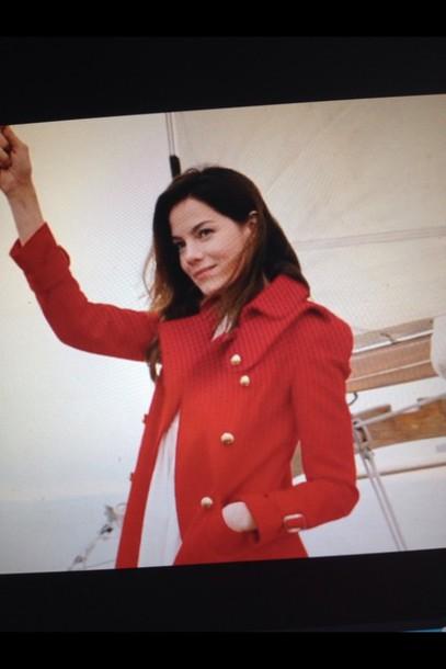 coat red coat