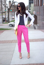 pants,hot pink,cut-out