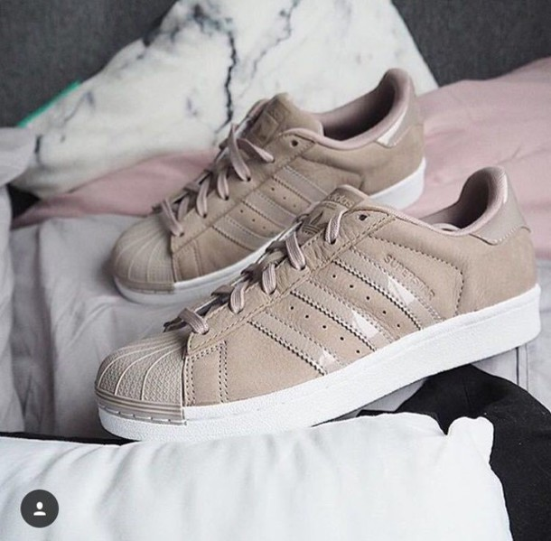 Adidas Superstar beige