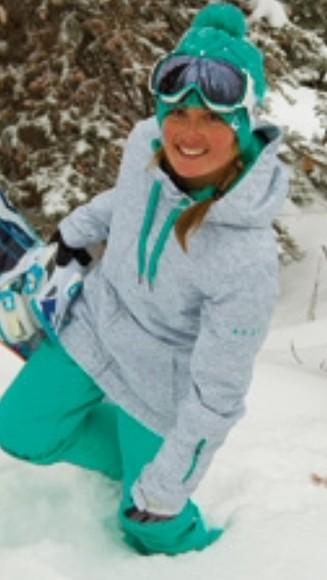 jacket gray snowboard jacket snowboarding gray and blue