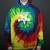Thrasher Magazine Skate Goat Men's Hoodie in Tie Dye (3142323-tiedye)