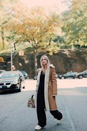 the fashion guitar,blogger,coat,bag,jumpsuit,shoes